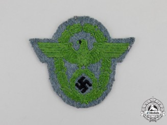 Germany. A Mint and Unissued Third Reich Period Schutzpolizei Municipal Police Sleeve Eagle