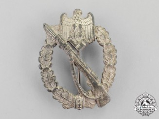 Germany. A Silver Grade Infantry Assault Badge Presumably by H. Wernstein