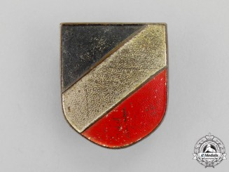 Germany. A Tropical Pith Helmet Tri-Colour Cockade Insignia