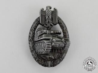Germany. A Bronze Grade Tank Badge by Wilhelm Deumer of Lüdenscheid
