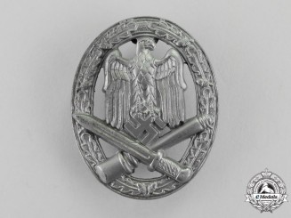 Germany. A Second War Period General Assault Badge by Ferdinand Wiedmann of Lüdenscheid