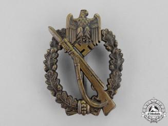 Germany. A Bronze Grade Infantry Assault Badge by Metall & Kunstoff #4