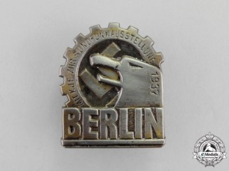 Germany. A 1937 KDF (Strength Through Joy) Trip to the Radio Broadcasting Exhibition Badge