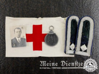 Germany. A Photo Album & Insignia of R. Faß of the Grossdeutschland Medical Division