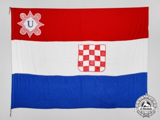 Croatia. A Historically Important Independent State of Croatia State Flag, 1941-45