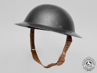 Great Britain. A 1939 Manufacture Brodie Mark I Helmet by Briggs Motor Bodies Ltd