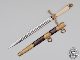 Latvia. A National Socialist Government Official's Dagger by E. & F. Hörster, c.1940