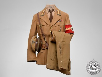 Germany. A Decorated Reich/Regional/District Level NSDAP Oberabschnittsleiter Uniform