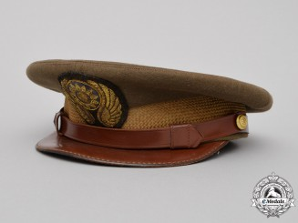 "China, Republic. A China Air Force (ROCAF) ""Flying Tigers"" Aviator's Visor Cap"