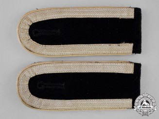 "Germany A Pair of Panzer Division ""Hermann Göring"" NCO Shoulder Straps"