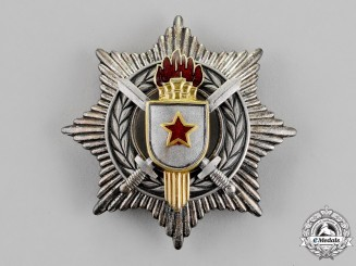 Yugoslavia, Republic. An Order for Military Merit with Silver Sword, 3rd Class