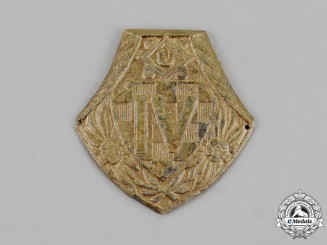 Croatia. A Fourth Mountain Regiment Cap Badge, c.1941