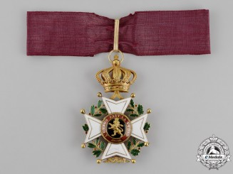 Belgium, Kingdom. An Order of Leopold in Gold, Commander Cross, c.1880