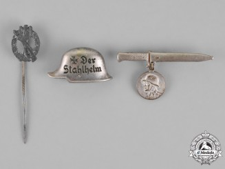 Germany. Three Second War German Badges and Stick Pins