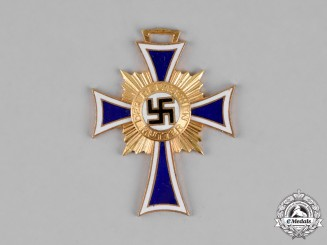 Germany. A Cross of Honour of the German Mother, First Class in Gold