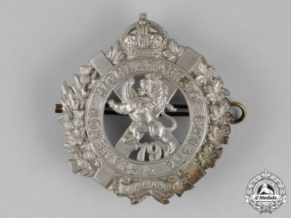 Canada. A 79th Cameron Highlanders of Canada Glengarry Badge, c.1910
