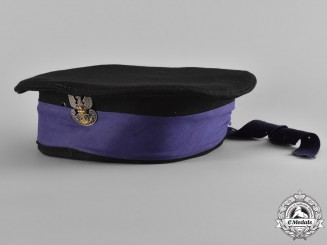 Poland. A Canadian-Made Naval Cap used by a Polish Seaman, c.1944