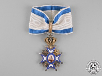 Serbia, Kingdom. An Order of St. Sava, 3rd Class Commander, c.1900