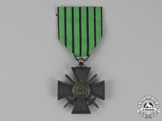 France, Vichy Government. A Croix de Guerre, 1939-1942