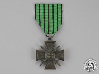 France, Vichy Government. A Croix de Guerre, 1939-1943