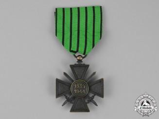 France, Vichy Government. A Croix de Guerre, 1939-1944