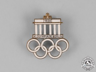 Germany. A Berlin Olympic Games Event Badge by Werner Redo, c. 1936