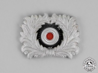 Germany. A Customs Official Visor Cap Wreath