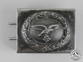 Germany. A Luftwaffe EM/NCO's Standard Issue Belt Buckle