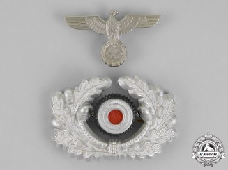 Germany. Two Wehrmacht Heer (Army) Insignia