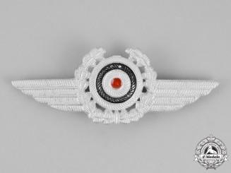 Germany. A DLV (German Air Sports Association) Visor Cap Insignia