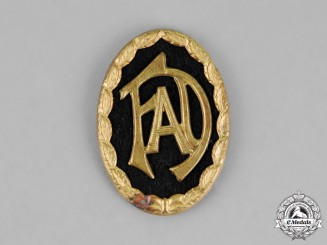 Germany. A FAD (Volunteer Labour Service/Freiwillige Arbeitsdienst) Cap Insignia