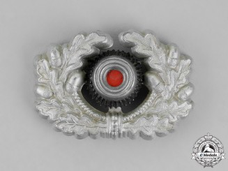 Germany. A Wehrmacht Heer (Army) NCO's Visor Cap Wreath and Cockade