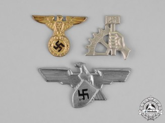 Germany. Three Third Reich Period Insignia