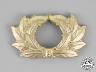 Germany. A TeNo (Technische Nothilfe/Technical Emergency Help) Cap Wreath