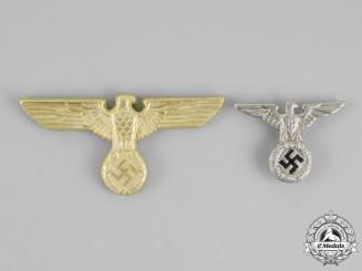 Germany. Two SA/Political Cap Eagles