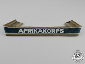 Germany. A German Africa Corps (DAK) Campaign Cuff Title