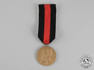Germany. An Entry into the Sudetenland Commemorative Medal