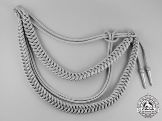 Germany,  Wehrmacht. A Heer Officer's Aiguillette