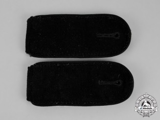 Germany. A Mint Pair of Waffen-SS Pioneer/Engineer Enlisted Man's Shoulder Boards