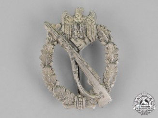 Germany. An Infantry Assault Badge, Silver Grade