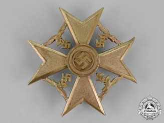 Germany. A Spanish Cross, Bronze Grade, Without Swords