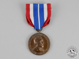United States. An Army Civil War Campaign Medal with First Style Ribbon 1861-1865