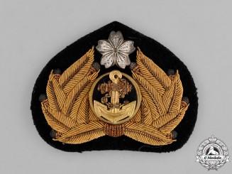 Japan. A Naval Officer's Cap Badge, c.1940