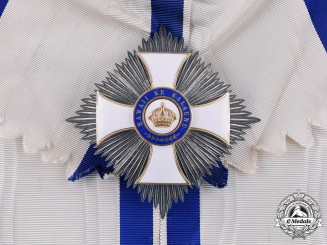 Hawai'i, Kingdom. An Order of the Crown, Grand Cross Star, by Kretly, Paris, c.1885