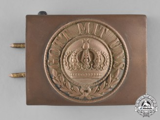 Prussia, State. An Imperial Prussian Army EM/NCO's Belt Buckle)