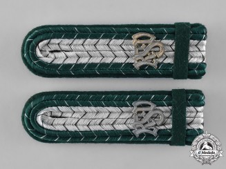 Germany. A Set of Custom Official's Aid Shoulder Boards