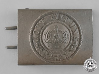 Prussia, State. An Imperial Prussian Army EM/NCO's Belt Buckle