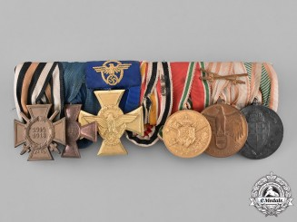 Germany, Empire. An Imperial Participation Medal Bar with Seven Medals and Awards