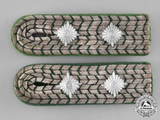 Germany. A Set of Judiciary Constable Shoulder Boards