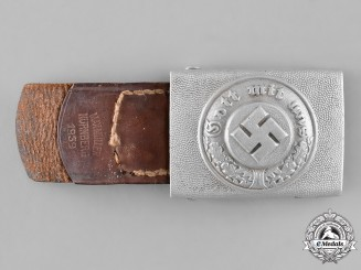 Germany. A Protection Police EM/NCO's Belt Buckle, by Overhoff & Cie